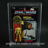 Vitrine acrylique personnalisée pour Vintage Carded Star Wars