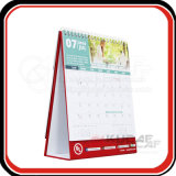 Ориентированный на заказчика календар стола бумаги искусствоа 250GSM ежемесячный