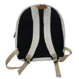 白い防水しなさい洗浄されたクラフト紙のバックパック袋(16A089)を