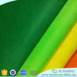 100 % de matières premières en polypropylène filé Non-Woven Bond tissu non tissé
