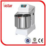 misturador de massa de pão do misturador da espiral do carrinho de 80L 32kg para ferramentas da padaria com a fábrica da venda por atacado do temporizador em China