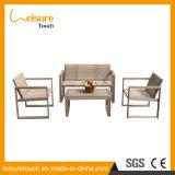La stanza di seduta esterna dell'hotel di ricorso della villa della mobilia del giardino può Unpick e lavare il sofà di alluminio del rattan