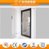 75 series de calor del aislante del doble del aluminio del vidrio/aluminio/puerta interiores abiertos de Aluminio