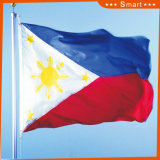 Fait sur commande imperméabiliser et indicateur national de Philippines d'indicateur national de Sunproof