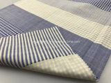 Teñido de hilados de algodón tejido de doble capa
