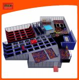 Trampoline Indoor Playground Indoor Trampoline Sports Equipment Amusement Park7119b