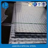 Alta calidad de la SS 304 en relieve la hoja de acero inoxidable