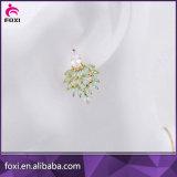 最新のデザイン吊り下げ式のEearringsのサウジ花嫁の宝石類セット