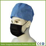 Maschera di protezione nera non tessuta a gettare con il Orecchio-Ciclo