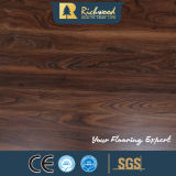 8mm Graver en relief-dans-Enregistrent le plancher stratifié par bois du chêne HDF