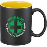 La tazza di ceramica promozionale con progetta il marchio per il cliente