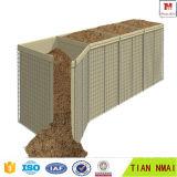 Стена обороны, клетка песка, сваренная коробка Gabion