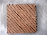 ベランダの木の合成物DIYのデッキのタイル
