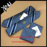 Jacquard Handmade laço de seda tecido de 100% com quadrado Pocket
