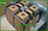 Negro de cola protectores de la luz trasera de la lámpara de ajuste Cubiertas para Jeep Wrangler 07-16