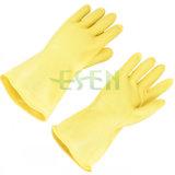 Gants en caoutchouc de cuisine de latex de gants de nettoyage de gants de latex de ménage fonctionnant des gants
