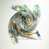 Flourish Printing Cotton Scarf der Dame Polyester 100% (H7232)