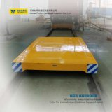 Schwerindustrie-Batterie gefahrener motorisierter flacher Übergangsblockwagen