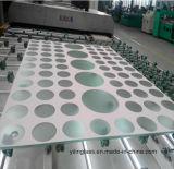 3-19mm hanno indurito il vetro stampato matrice per serigrafia con vari colore e reticolo