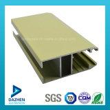 Profil en aluminium personnalisé d'extrusion de l'Afrique Ethiopie de poudre de porte enduite de guichet