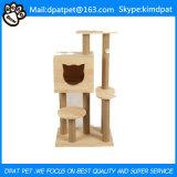 Vollständige Verkaufs-Katze-kletternder Baum von der Dpat Fabrik