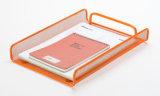 문서 쟁반 금속 메시 문구용품 파일 쟁반 사무실 책상 부속품