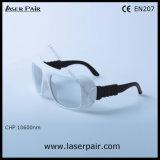 seguridad de laser del CO2 10600nm Eyewear con alta densidad óptica y gran transmitencia