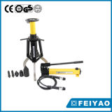 Pompe hydraulique manuelle avec manomètre léger la pompe hydraulique manuelle pour les outils hydrauliques