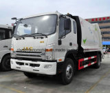 JAC 5개 T에서 쓰레기 트럭 8 톤 패물 수레 4X2 쓰레기 압축 분쇄기