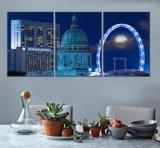 Heißer Verkauf kundenspezifischer farbenreicher Segeltuch-Druck der Drucken-Wand-Kunst-DIY