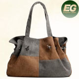 Nuevas compras en línea SA03 del bolso de totalizador de señora Handbags Canvas del Color-Collsion del diseño