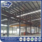A dos aguas de la construcción Metal Estructura Almacén estructura prefabricada de acero