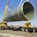 Gran Diámetro del tubo de plástico reforzado con fibra de vidrio del tubo de GRP