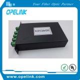 PLC van Lgx van de Telecommunicatie van Gpon 1X4 Splitser voor Pon/FTTH/CATV