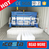 De aço inoxidável 304 5t/dia Bloquear máquina de gelo