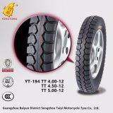 Neumático del triciclo del motor de la alta calidad (YT-194 TT4.50-12)
