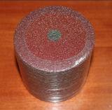 Disque de ponçage en fibre d'oxyde d'aluminium pour métal