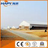 Azienda agricola di pollo prefabbricata con la strumentazione automatica della griglia