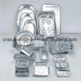 Ölfreies Aluminiumfolie-Tellersegment für Brathuhn