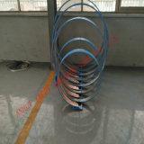 Câmara de ar espiral anterior para a tubulação do duto de ventilação que faz a formação