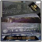 Jardin d'aluminium coulissante de porte principale de la conception