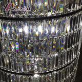 Cristallo moderno personalizzato intorno alla lampada Pendant per l'ingresso dell'hotel