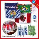 3X5FT tela de publicidade ao ar livre impresso esportes futebol bandeira personalizada