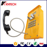 ГЛОТОЧКА телефона телефона Knsp-16 звонока хайвея телефон непредвиденный напольный