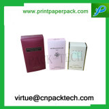 Изготовленный на заказ водоустойчивая коробка подарка бумаги пакета дух