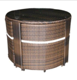Presidenza esterna di svago della mobilia del rattan e Table-8