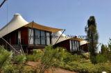 Casa de madeira de vida da barraca européia do feriado para a lua de mel