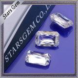 9*7 E/F löschen weißen Crisscut Smaragd-Schnitt Moissanite Diamanten