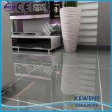 Azulejos de suelo Polished de la porcelana del buen color gris puro del precio 600X600