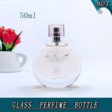 Frasco de perfume de vidro de luxo 50ml com tampa Surlyn